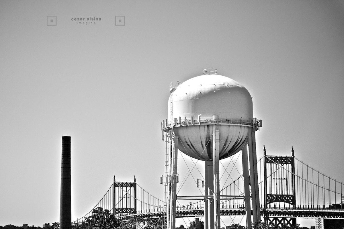 Hell Gate Circle Water Tower