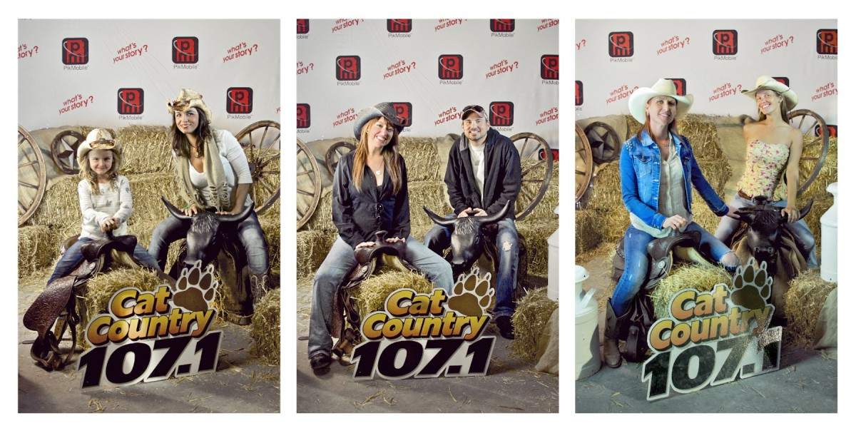 Fun At The 6th Annual Lakeside Country Bash PhotoBooth